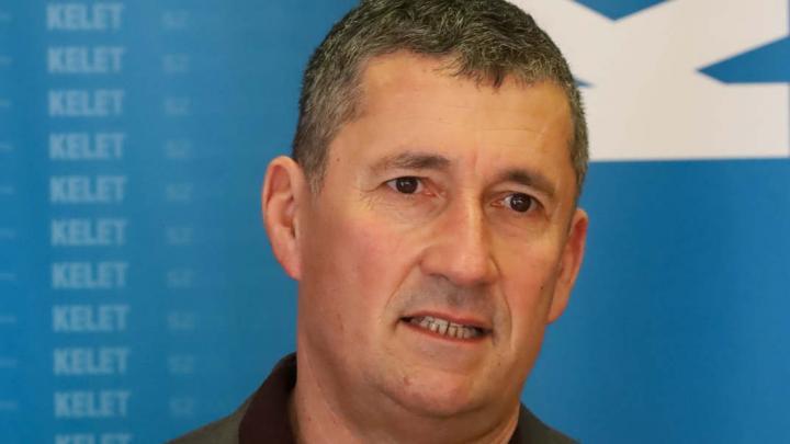 Mizser Zsolt polgármester (Fotó: Dodó Ferenc)